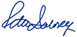 Peter Salovey, signature